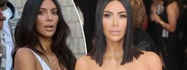 Rumpbilderna falska enligt Kim Kardashian