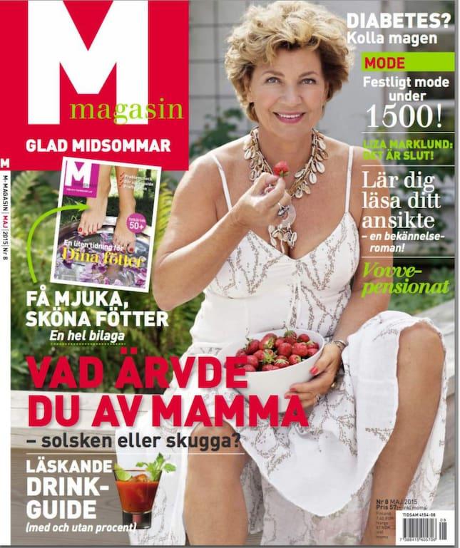 Nya numret av M magasin
