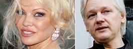 Pamela Andersons kärleksbrev till Assange