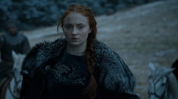 En Stark, eller kanske Lannister på ringmuren?