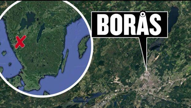 Grannfejd urartade i Borås - storbråk utomhus