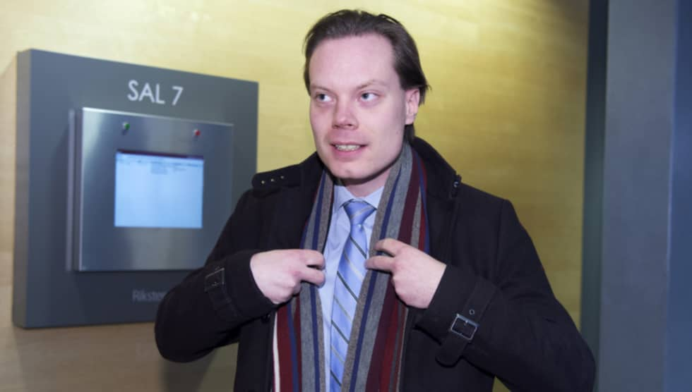 SD-toppen, som riskerar fängelse i ett och ett halvt år, hävdar gång på gång att han inte fick några signaler om att bokföringen inte sköttes i partiets mediebolag Samtid & Framtid. Foto: Sven Lindwall