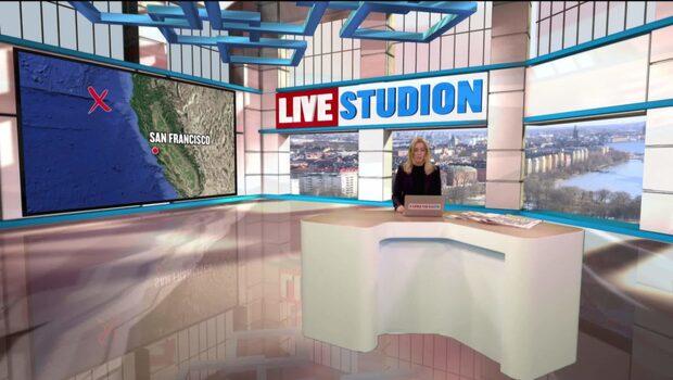 Jordbävning skakar norra Kalifornien