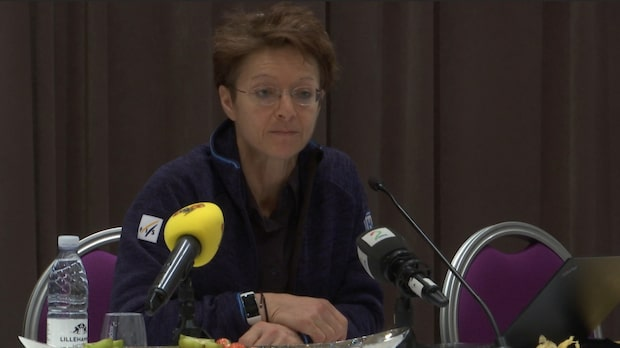 Här vägrar FIS-pampen svara på SVT-profilens fråga