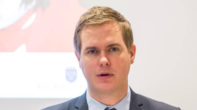 Gustav Fridolin, språkrör MP. Foto: IBL