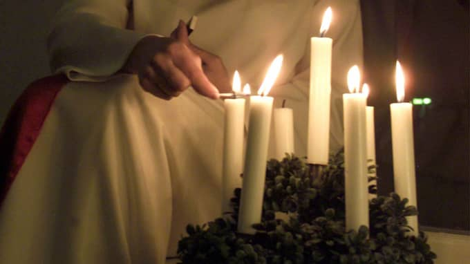 Lucia is celebrated on December 13. Photo: Olof Abrahamsson
