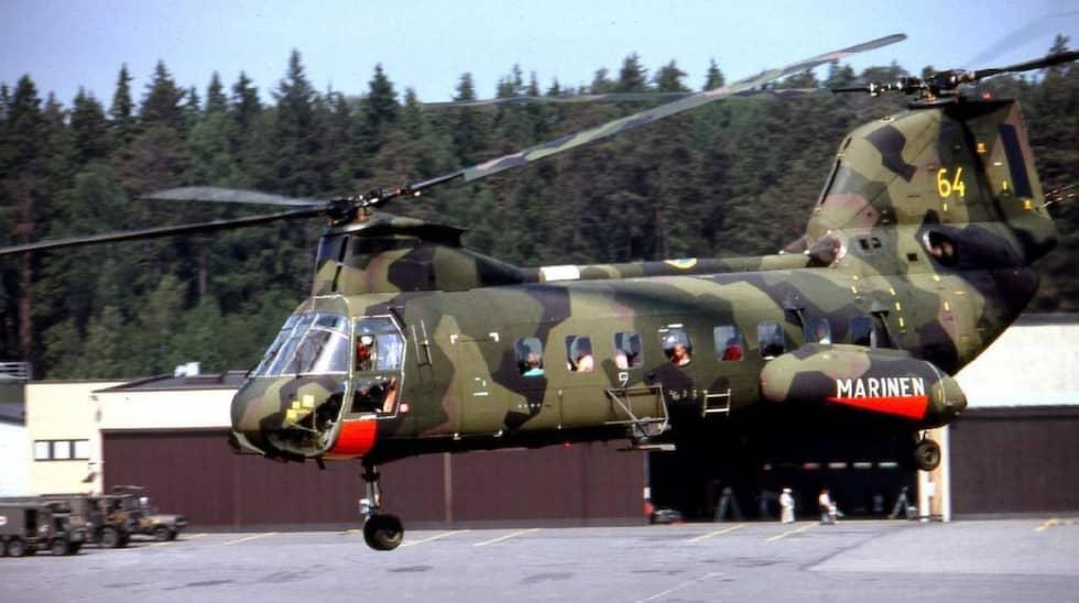 Den svenska marinen använde sig tidigare av Hkp4.