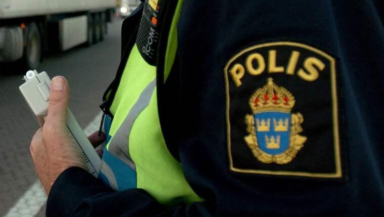 Polismannen ville inte jobba övertid och struntade i befälets order. Obs! Bilden är tagen vid ett annat tillfälle. Foto: Lasse Svensson