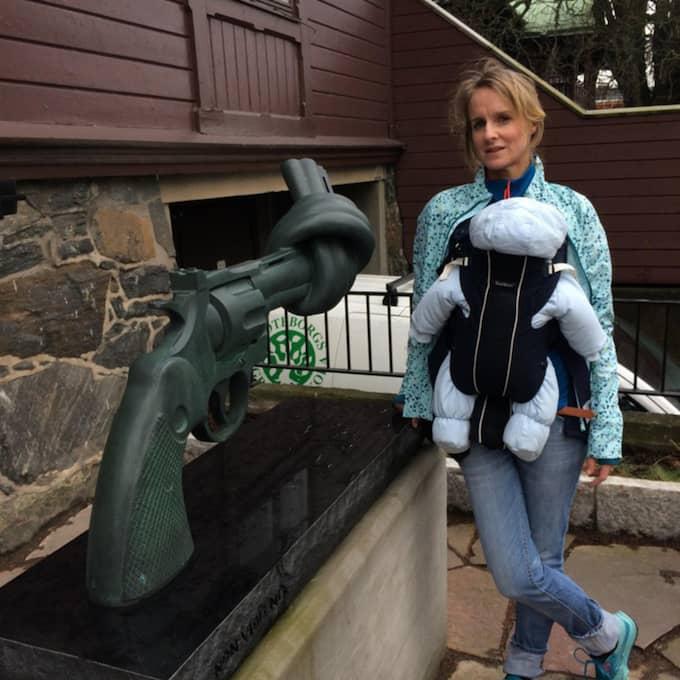 Märta Bäcklund reagerade starkt när hon läste om förhållandena i Syrien. Foto: Privat