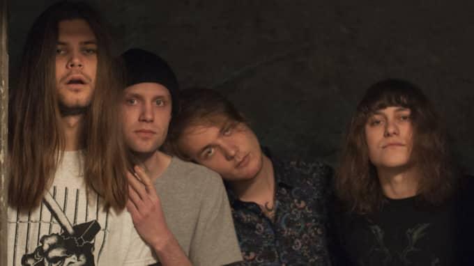 """Bandet Dreamboys tvingades att byta namn på sin Facebooksida. Detta på grund av att strippkollektivet """"Dreamboys"""" från Storbritannien hörde av sig. Foto: Privat"""