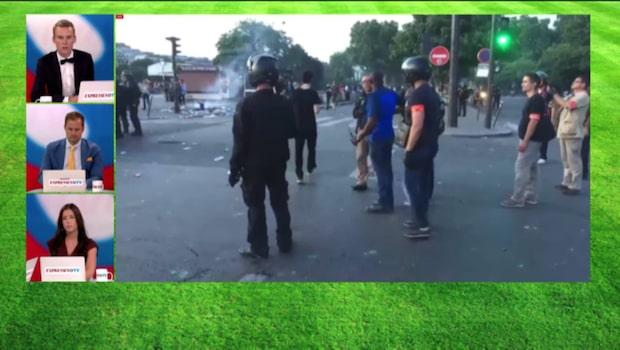 Nya oroligheter i Paris - polis har tvingats ingripa