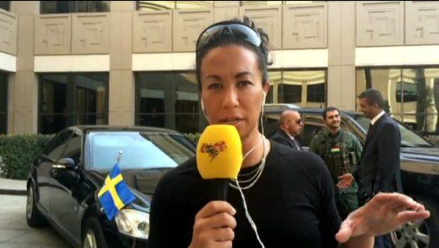 Magda Gad mötte Löfvén i Irak