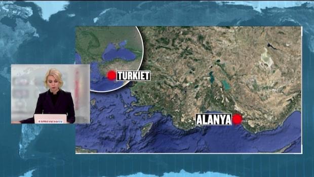 Tre svenskar gripna i Turkiet