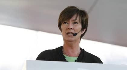Mona Sahlin talade under torsdagen i Almedalen. Foto: Cornelia Nordström