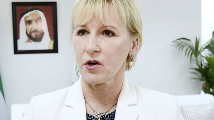 Margot Wallström. Foto: Sven Lindwall