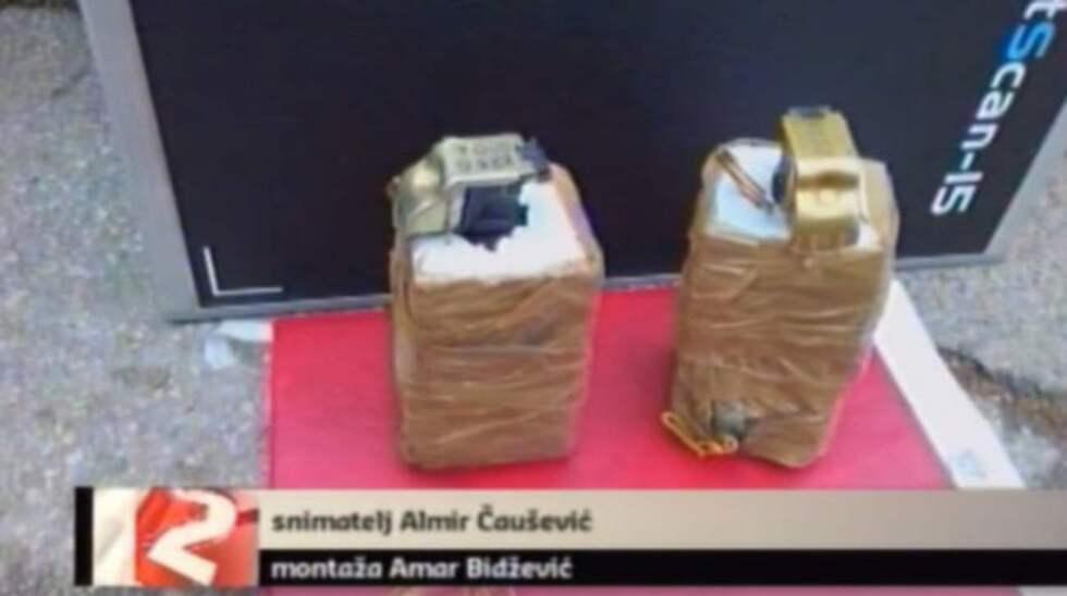 De misstänkta bomberna. Foto: Federalna.ba