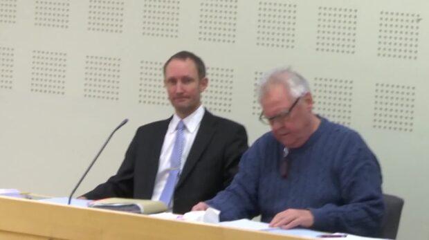Ex-militären Lennart Ekstrand döms till 17 års fängelse