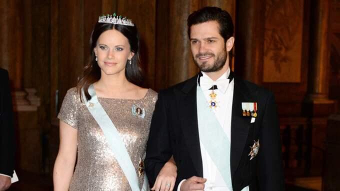Prinsessan Sofia, här med Carl Philip, är hedersordförande för populära Sophiahemmet som öppnade BB Sophia. Foto: Pelle T Nilsson/Aop-Ibl