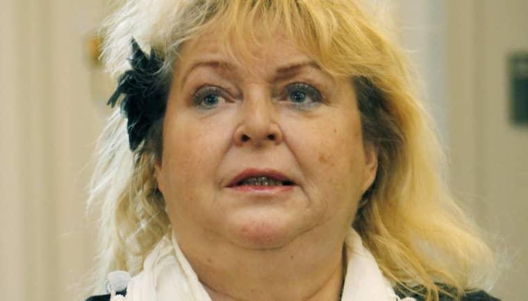 Kikki Danielsson spred en artikel från främlingsfientliga sajten Fria Tider på Twitter. Sedan dess har hon jagats av en hatstorm. Foto: Mats Andersson