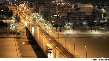 Här mitt i centrala Umeå hade den misstänkte Hagamannen tillgång till en lokal. Enligt vänner sågs han på platsen strax efter det sista överfallet.