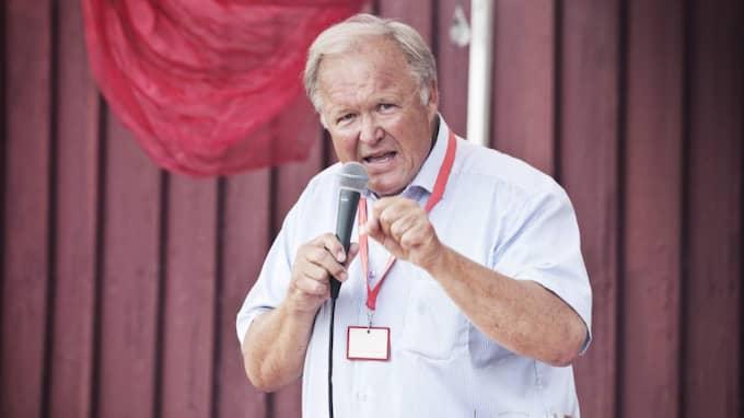 """Förre statsministern Göran Persson kritiserar S-ledningens beslut att inte diskutera invandring. """"Det är viktigt"""", säger han i en exklusiv intervju med Expressen. Foto: Evelina Carborn"""