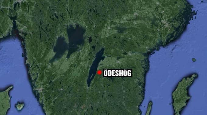 Mannen hittades i en lägenhet i Ödeshög.
