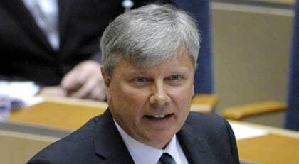 """Vänsterledaren Lars Ohly svarar i dag på anklagelserna om antesemitism. """"Jag och Vänsterpartiet kommer fortsätta att stå i första ledet i kampen mot rasism och antisemitism"""", skriver han bland annat. Foto: Scanpix"""