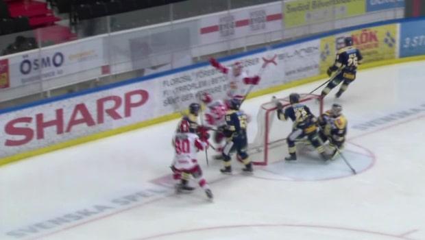 Emil Larsson hjälte med fyra mål