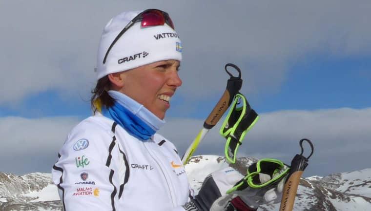 Aldrig har Charlotte Kalla & Co varit mer i riskzonen som inför hemma-VM. Foto: Tomas Pettersson