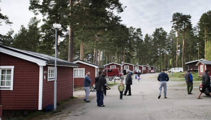 Moheds camping i Söderhamn. Foto: Anna-Karin Nilsson