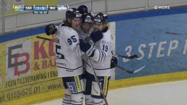 Highlights: Södertälje-Bik Karlskoga 1-6