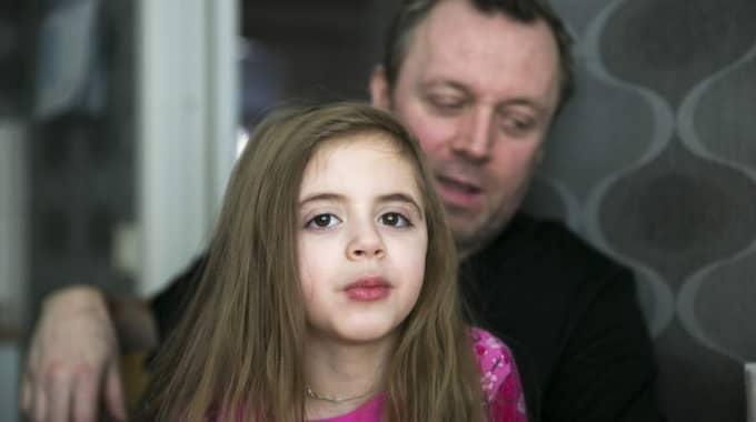 En intransplanterad odlad ven räddade 5-åriga Isabel Dickhoffs liv. Foto: Lennart Rehnman