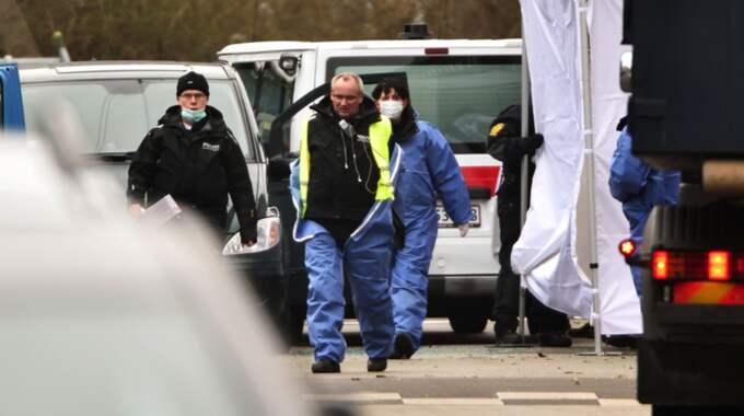 Polisens svarade den misstänktes eld med minst 30 skott. Foto: Christian Örnberg