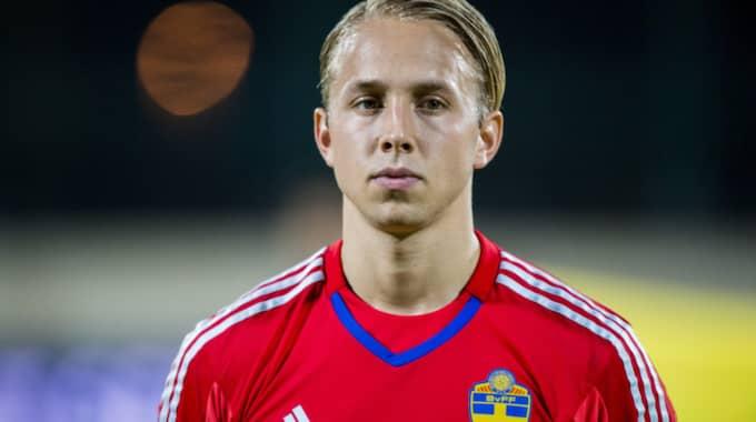 Patrik Carlgren fick inte plats i Hamréns trupp Foto: Marcus Ericsson/Tt