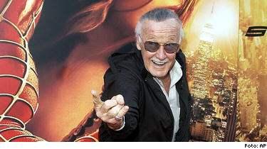 Mannen bakom Spindelmannen, Stan Lee, tar fram en ny karaktär direkt för biopubliken.