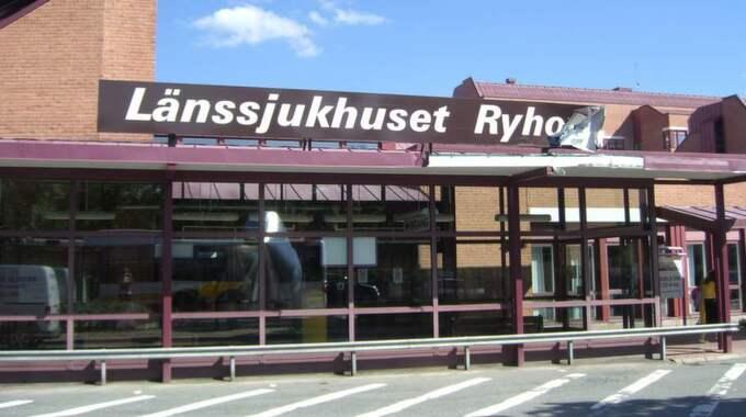 Länssjukhuset Ryhov i Jönköping har nu fått länsstyrelsens tillstånd att sätta upp nio stycken kameror. Foto: Kajsa Hallberg