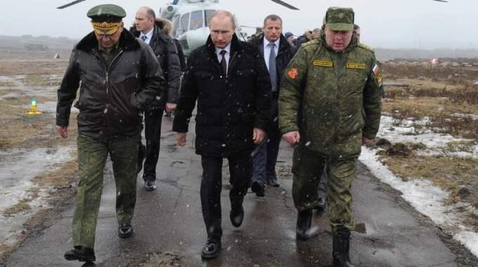 Vladimir Putin vill åter göra Ryssland till en global stormakt. Foto: Mikhail Klimentyev