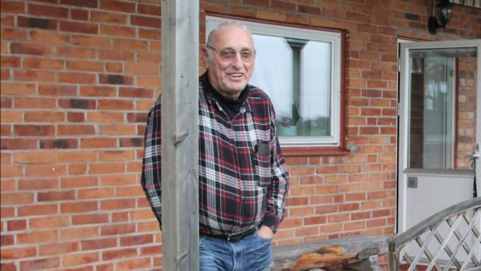 Den pensionerade polisen Billy Bertilsson. Bertilsson ska vittna i hovrätten men på måndagen kom det fram uppgifter att hans familj hotats. Foto: Tore Sahlström/Lidköpingsnytt