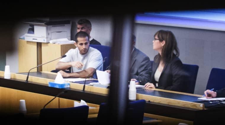 Mark Saliba, 23, döms till livstids fängelse för trippelmordet i Uddevalla. Foto: Robin Aron