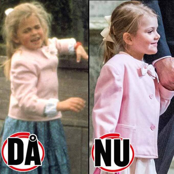 Madeleine i jackan 1990 och Estelle i jackan 2016. Foto: Stella Pictures + Pelle T Nilsson