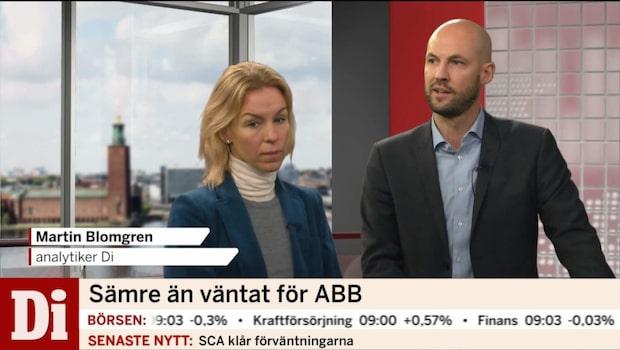 Därför går ABB:s aktie dåligt