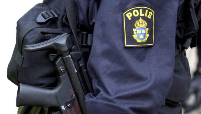 Polis. Foto: Janerik Henriksson/Tt