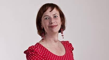 Christina Höj Larsen (V) missade rösta då hon gick på toaletten och inte hann tillbaka. Foto: GABRIEL LILJEVALL/WIKIMEDIA