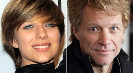 Jon Bon Jovis dotter Stephanie vårdades på sjukhus efter en misstänkt heroinöverdos. Foto: AP/BULLS