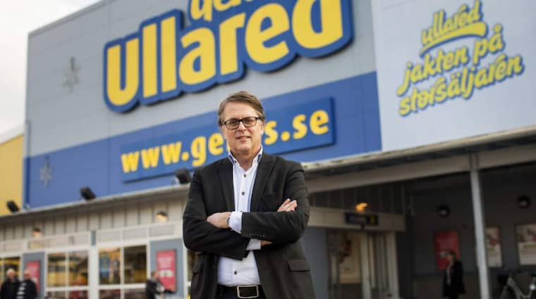 Nytt rekord. På lördagen satte Jan Wallbergs varuhus Gekås (rekord) då kunderna i Ullared handlade för 37,3 miljoner kronor. Foto: Anders Ylander