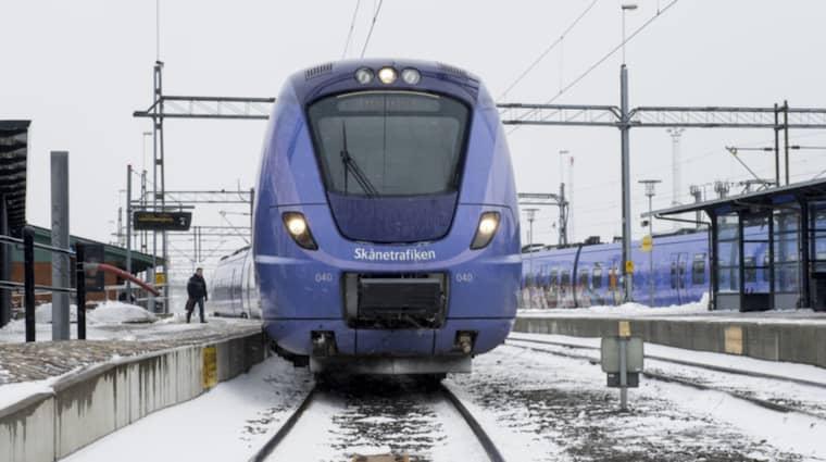 En tågvärd på ett Pågatåg från Skånetrafiken var berusad under arbetstid. Foto: Tomas Leprince
