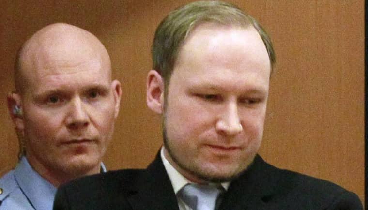 Anders Behring Breivik. Foto: Heiko Junge