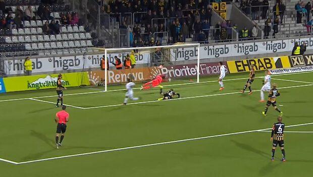 Romarinho sätter 1-0 för Kalmar