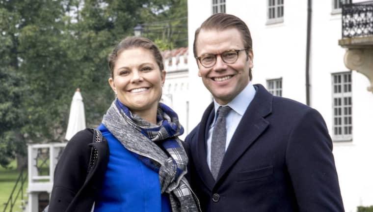 I dag besökte kronprinsessan Victoria och prins Daniel Östra Göinge. Foto: Tomas Leprince