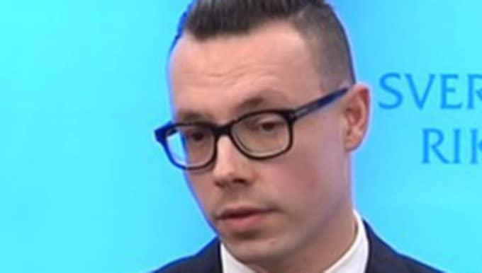 Joakim Wallerstein, Sverigedemokraternas kommunikationschef.